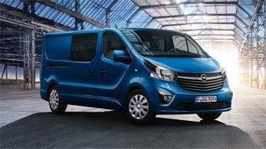 New Opel Vivaro - Crew Van