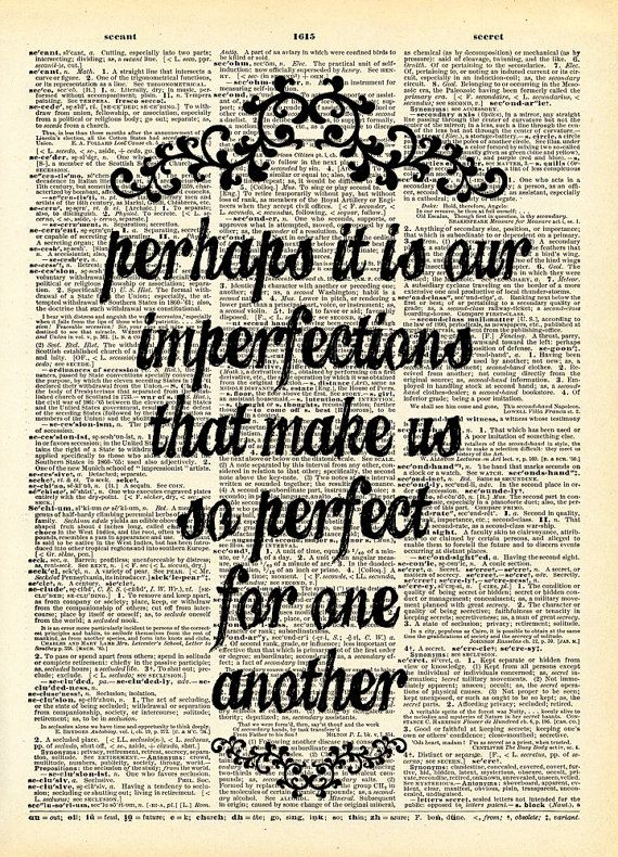 Jane Austen  Emma Quote  Perhaps it is our imperfections | Etsy