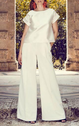 Pandora Short Sleeve Top by LEAL DACCARETT for Preorder on Moda Operandi
