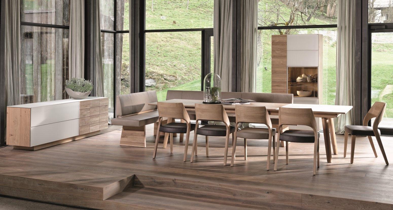 Voglauer V Montana Tisch Stuhl Kuchen Rustikal Innenarchitektur Landhauskuche