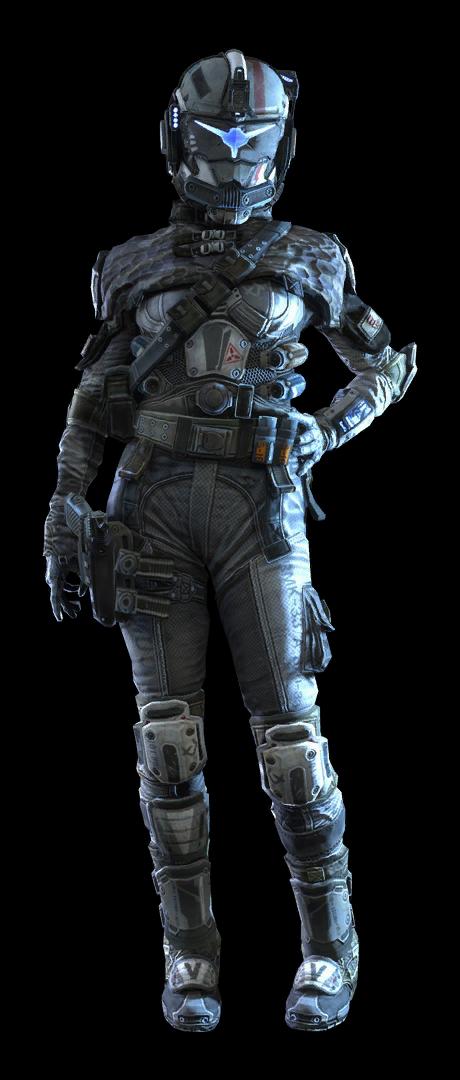 IMC assault pilot female.
