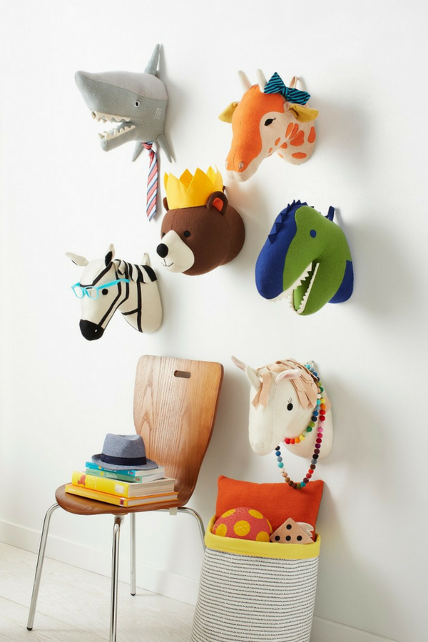The Shark Head Wall Decor From Pillowfort Is A Friendly Face On