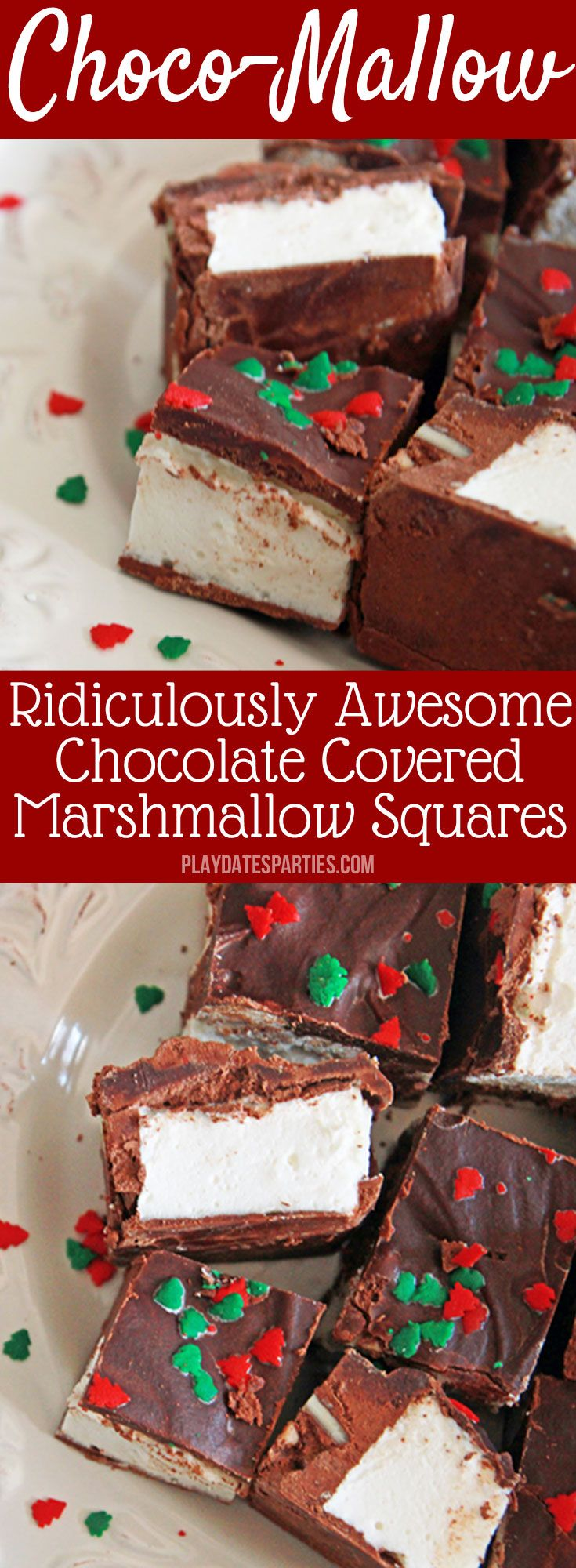 Christmas Desserts Pinterest.Choco Mallow Candy