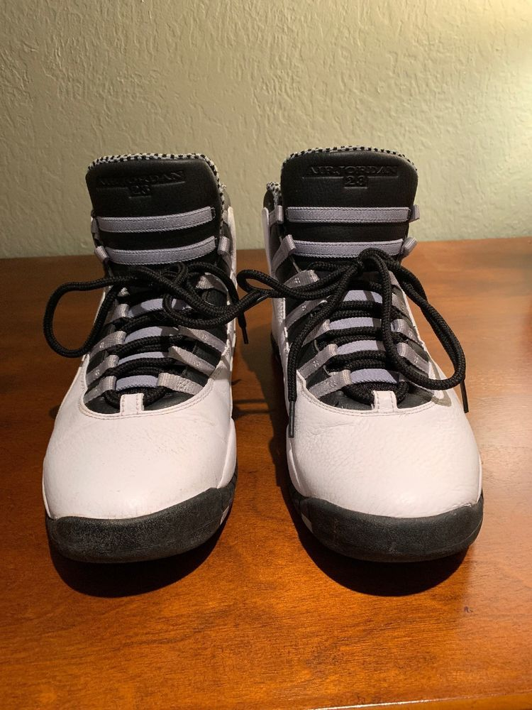 f014aa8da84 2066e 6f630; low price air jordan retro 10 steel size 11 used great  condition. fashion clothing shoes