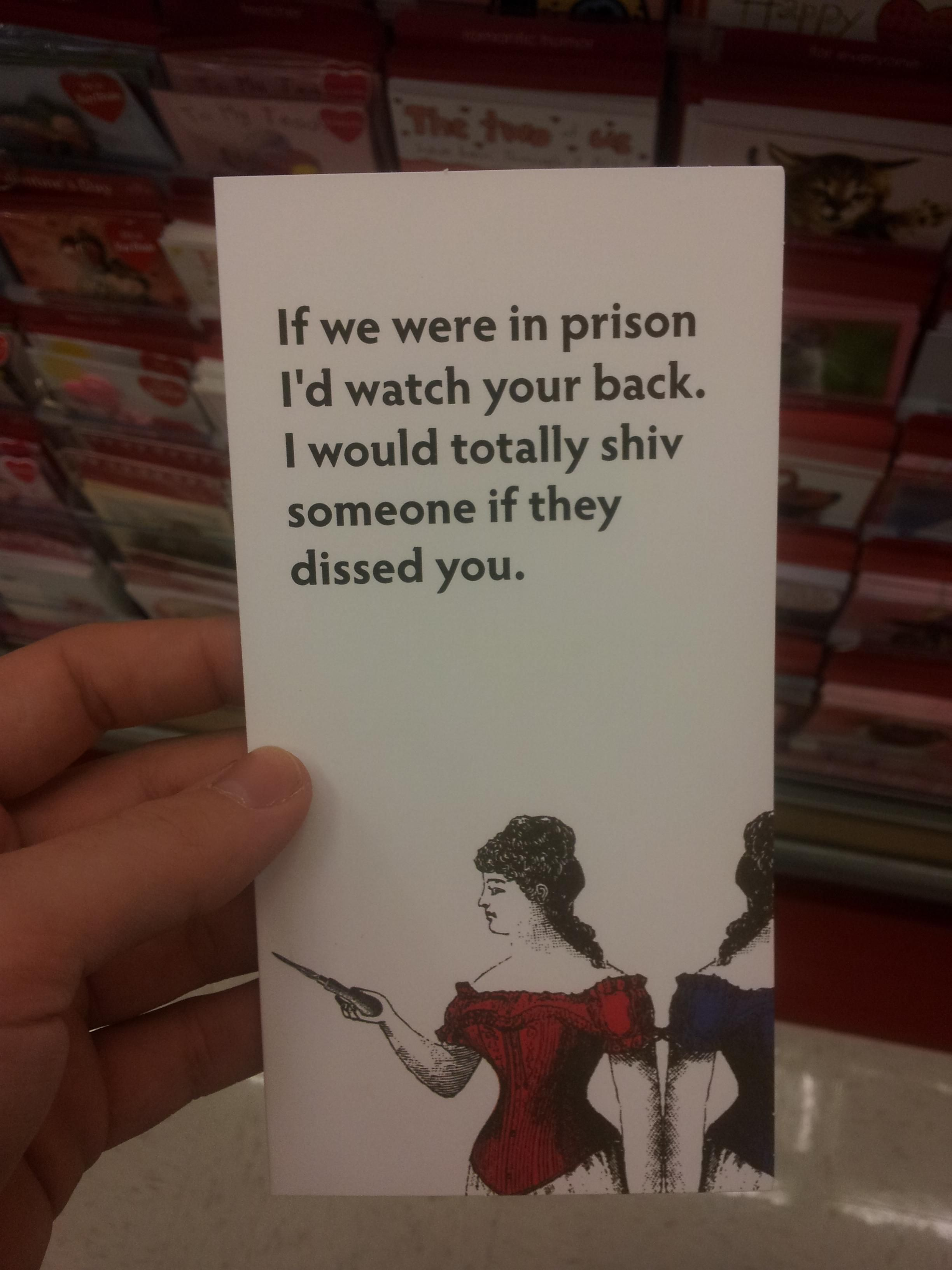 Prison Valentines Day Funny Funny Friend Valentines Funny Valentines Cards