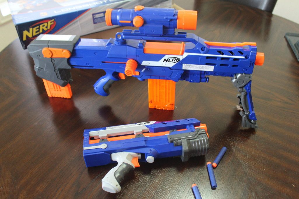 Nerf N Strike Elite Long Shot Cs 6 Blaster | Toys R Us