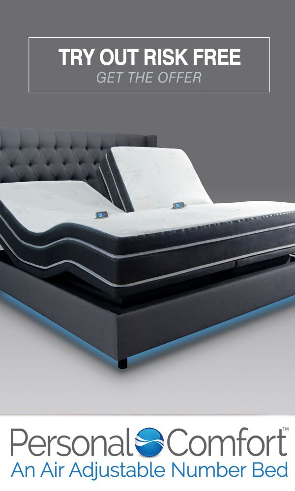 This Bed Can Make You Sleep Better Awake Refreshed Sign Up For Your 120 Night Risk Free Trial Today Free Shipping Free Smart Bed Bed Adjustable Beds