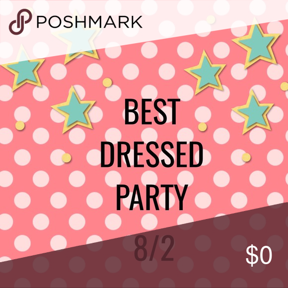 🌈 HOSTING My First Posh Party!!! 🌈 I'll be hosting my first party on August 2nd! Please make sure your closet follows posh rules and your items align with the theme, then share below. Happy poshing! 💕😘💕 Other