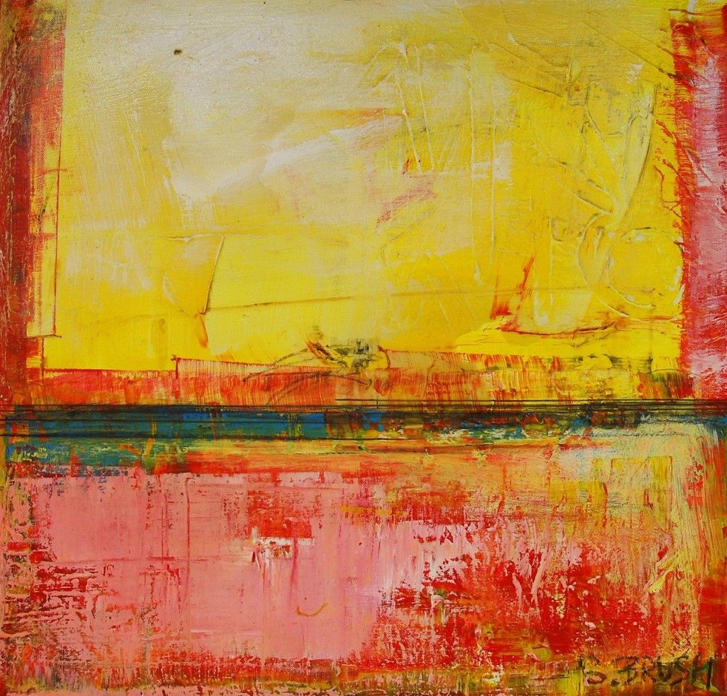 Sunshine art by simon brushfield 2010 oil acrylic