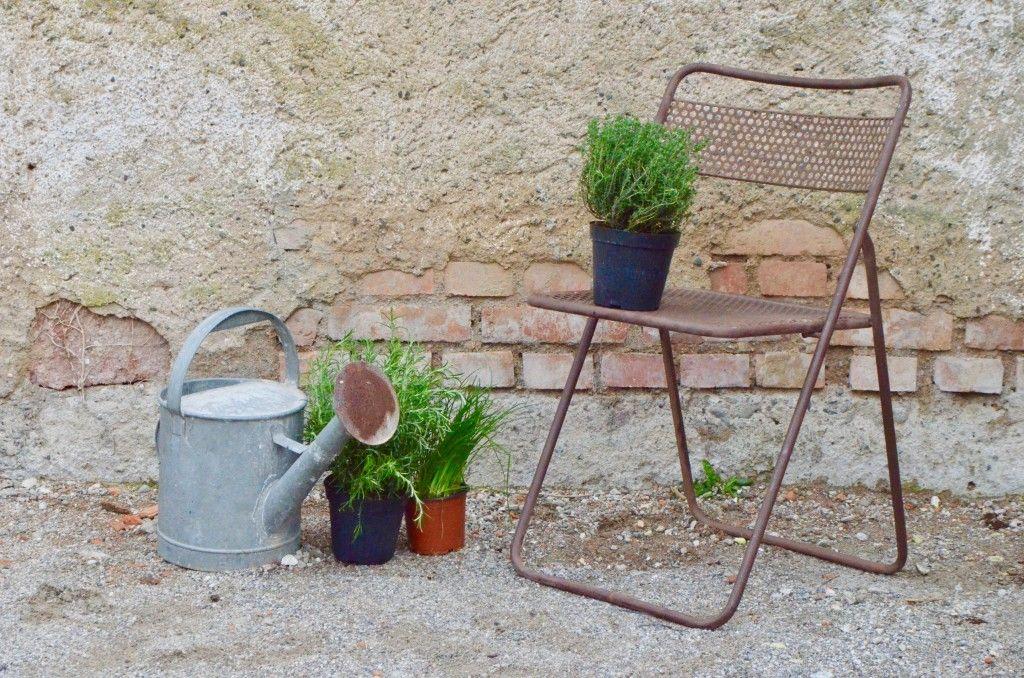 Chaise pliante Eumélie L'atelier Belle Lurette, Rénovation