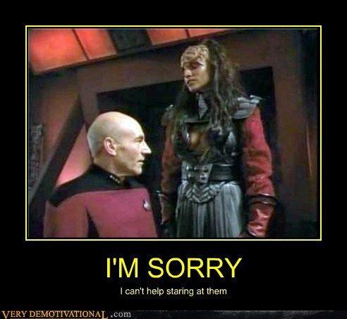 One Pervy Captain Picard | Funny star trek, Demotivational ...