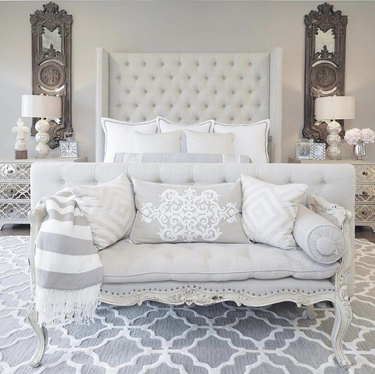 Bedroom Color Ideas With Dark Furniture Bedroom Decorating Ideas With Tufted Headboard Zen Master Bedroom Ideas Bedroom Color Ideas Gray: Pin By Yessenia Chavez On Bedding