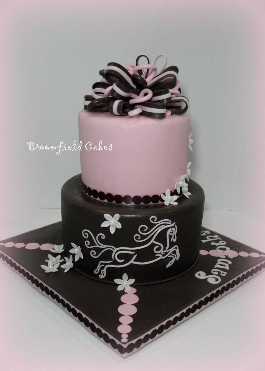 Made For A 13 Year Old Girl S Bday All Fondant