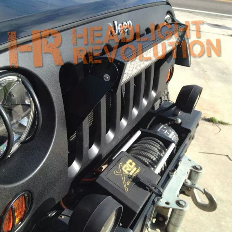 Strike force zebra stealth grill led light bar mount for jk jeep strike force zebra stealth grill led light bar mount for jk jeep wranglers mozeypictures Image collections