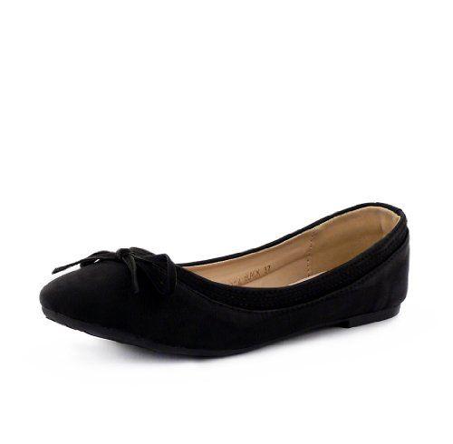 best boots Ballerinas Slipper Damen Halbschuhe Schleife