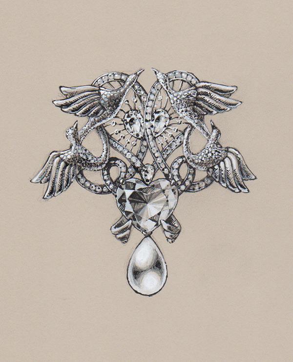 Vintage Looking Jewelry Drawing Facebook Www Facebook