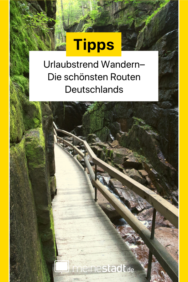 Urlaubstrend Wandern– Die schönsten Wanderrouten Deutschlands