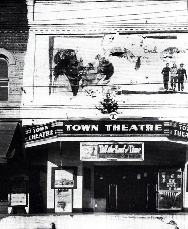 Town Theatre On The Square In Collierville, Tennessee. The Theatre Was  Destroyed By A