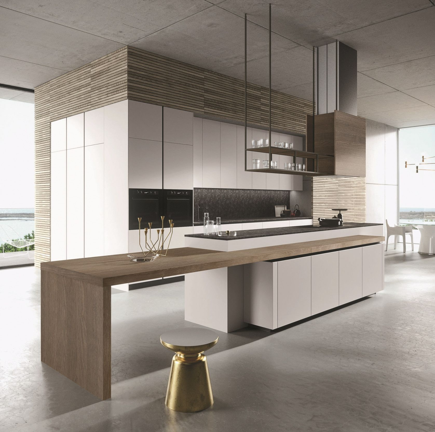 2019 Italian Kitchen Cabinets Miami Small Kitchen Island Ideas With Seating Check More A Modern Kitchen Design Kitchen Inspiration Modern White Wood Kitchens