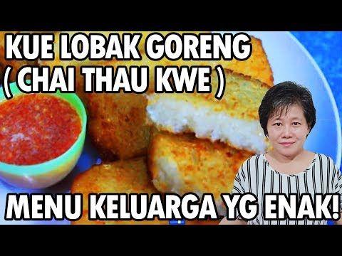 Resep Kue Lobak Goreng Chai Thau Kwe Lezat Youtube Lobak Resep Masakan Makanan