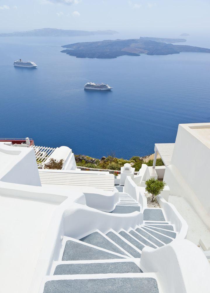 ما هي جزيرتك اليونانية الم فضلة Santorini Island Santorini Places