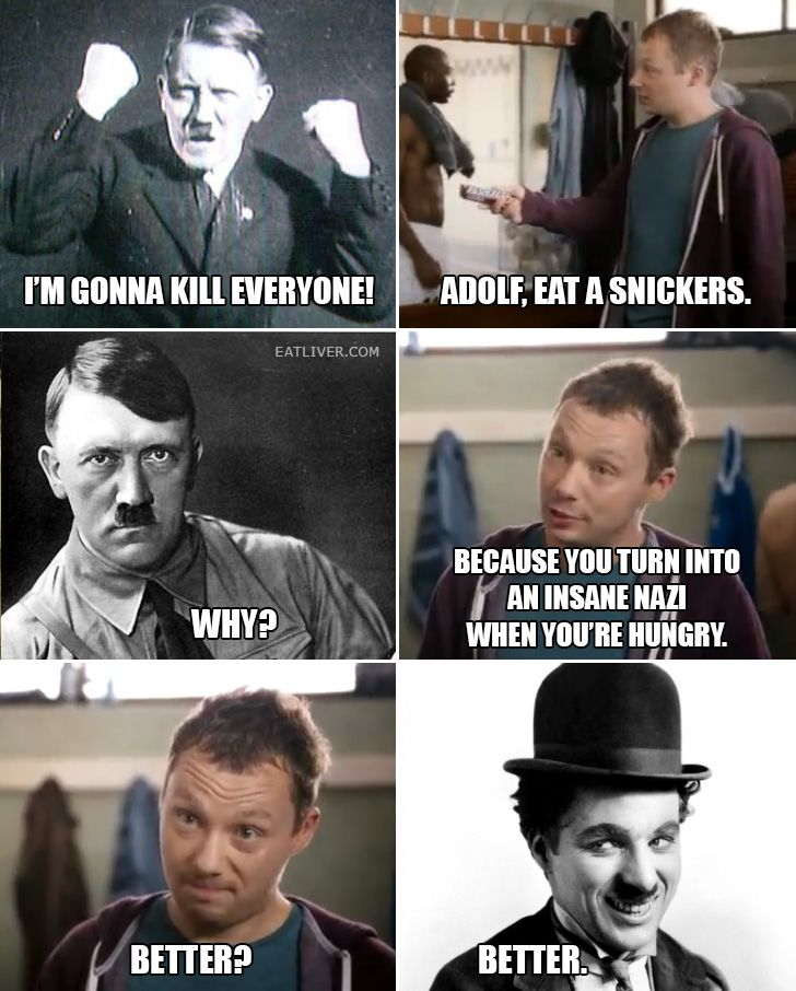 20 Funny Eat A Snickers Memes For When You're Getting ... |Snickers Meme