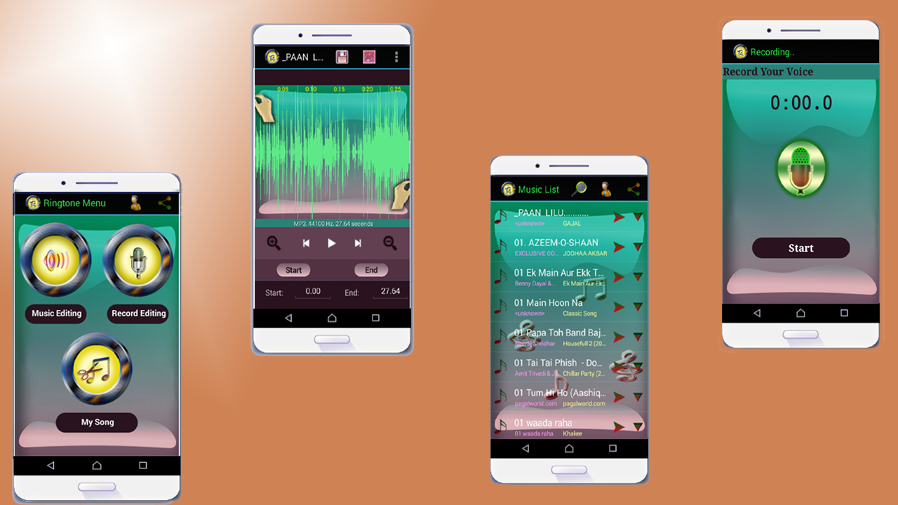 Make your ringtones fast and easy with this app. You can