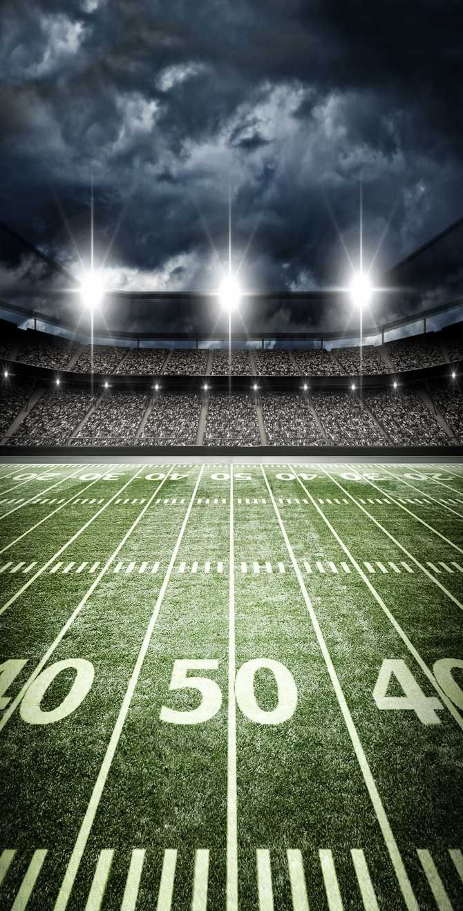 Football Stadium 50 Yard Line Backdrop 6327 Football Background Football Stadiums Football Photography