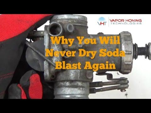 how to make a diy soda blaster for motorcycle carburetor