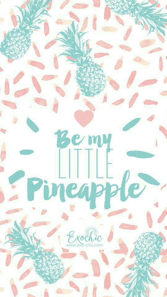 Quote Pineapple Best Iphone Wallpapers Cute Summer Phone Backgrounds