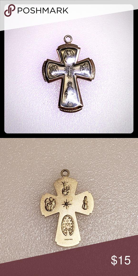 Cross Pendant Green And Gold Cross Pendant Gold Cross Pendant Green And Gold
