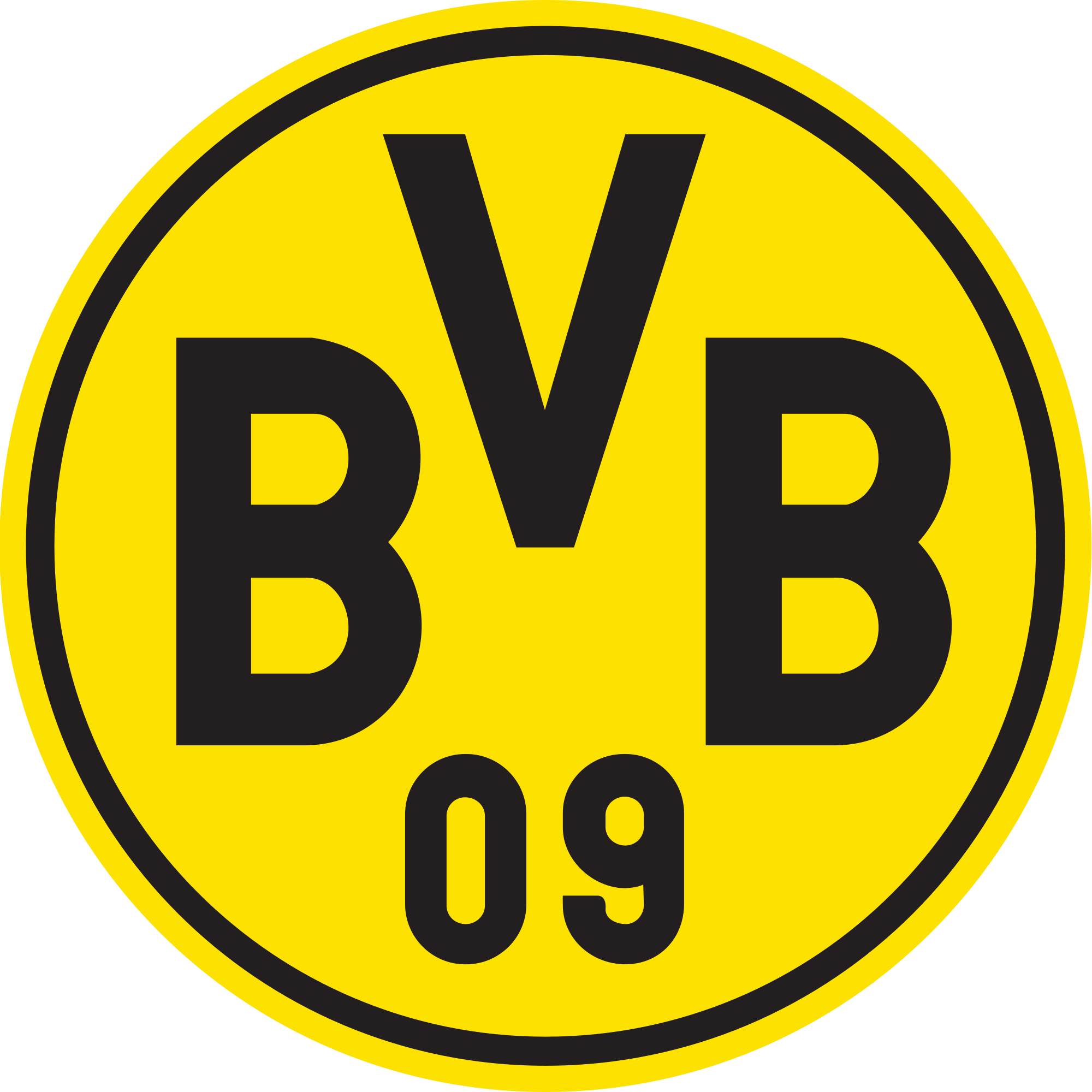 borussia dortmund logo | Боруссия дортмунд, Дортмунд, Милуоки