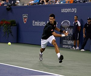 Djokovic wins easily | Video and Photos | 2013 US Open Official Site - A USTA Event - Official Site by IBM