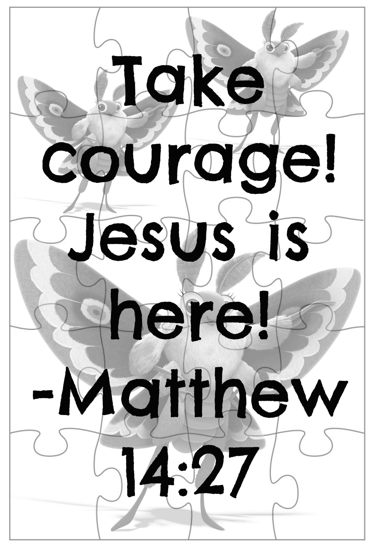 Matthew 14 27