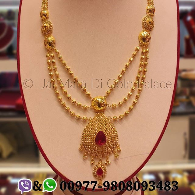 Another Magnificent Bridal Collection Ranihaar For This Wedding Season Since Wedd Gold Fashion Necklace Gold Jewelry For Sale Gold Jewellery Design Necklaces