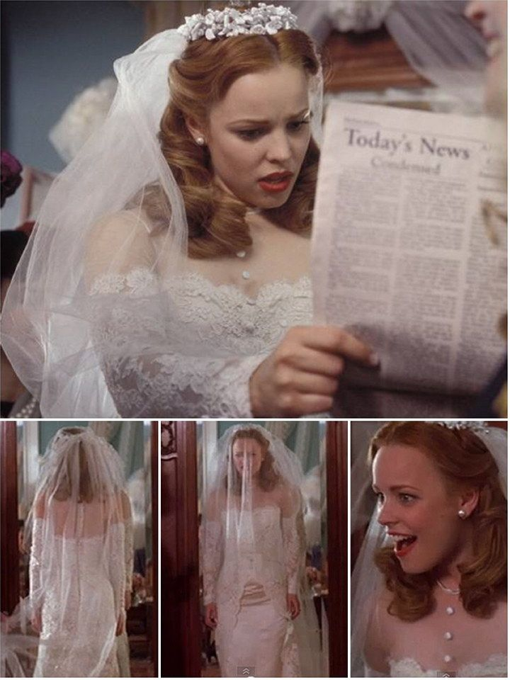 Iconic Wedding Dresses In Film The Notebook