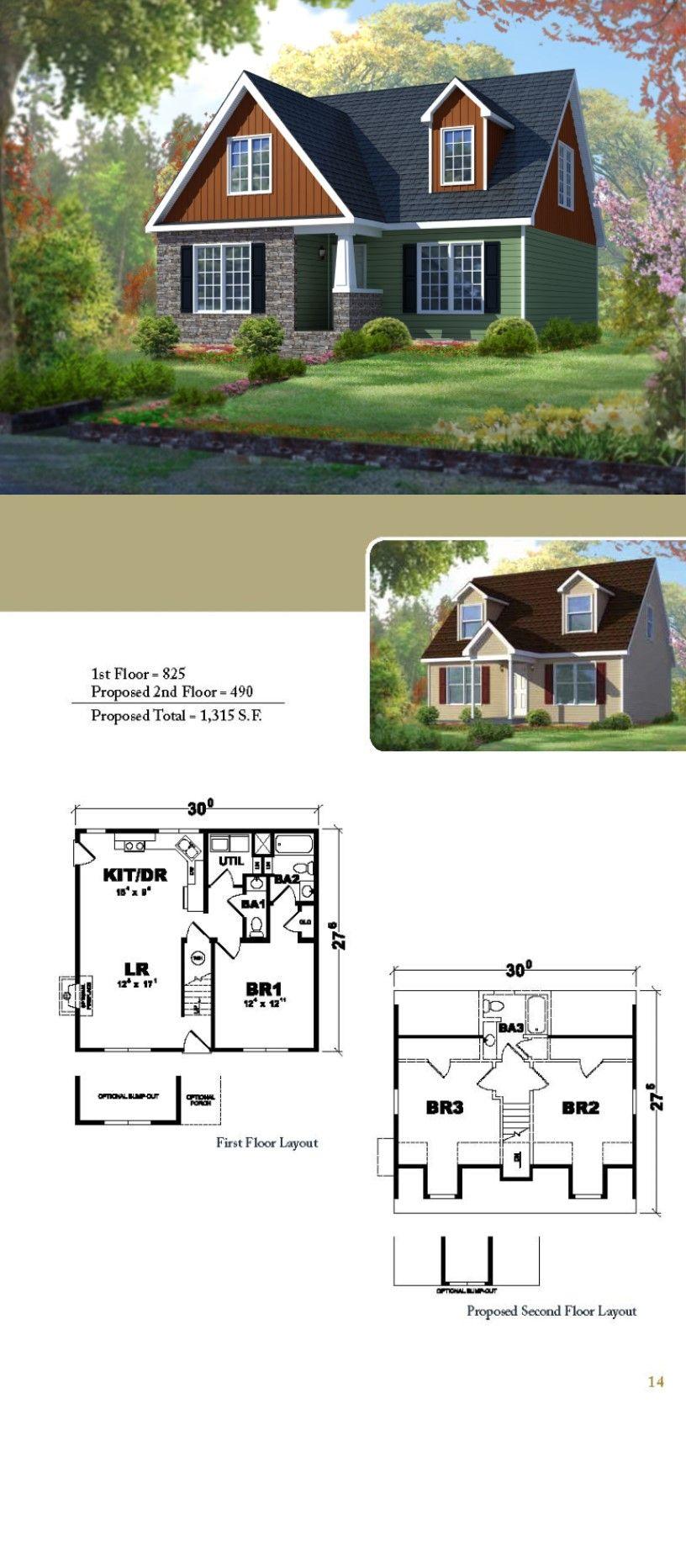 The Barclay A Cape Cod Style Home Cape Cod House House Plans House Blueprints