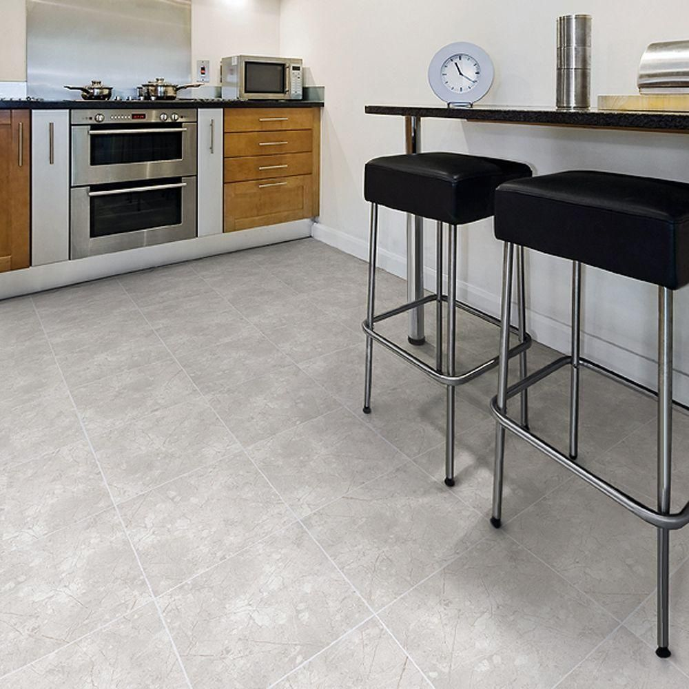 Resilient tile flooring home design ideas and pictures trafficmaster ceramica 12 in x 12 in alpine marble resilient vinyl tile flooring dailygadgetfo Images