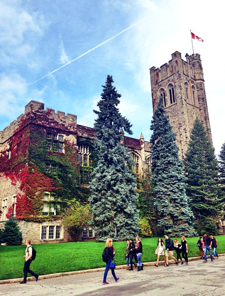 My lovely campus, Western university, London, Ontario