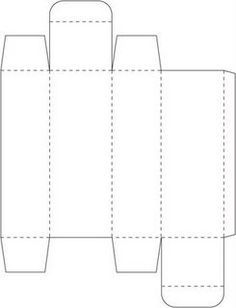 tall skinny box 1 x 5 template printable patterns