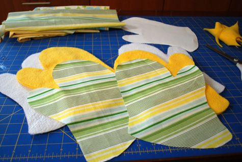DIY oven mitt free sewing pattern | Sewing patterns, Tutorials and ...