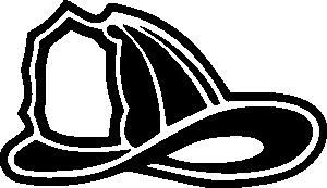 firefighter helmet clip art vector clip art online royalty free rh pinterest co uk  fire hat clipart black and white