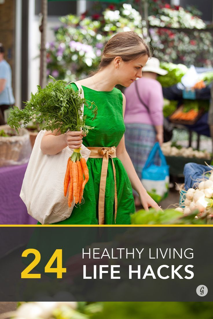 Healthy Life Hacks: 24 Healthy Living Tips From the People Who Know Best #healthyliving
