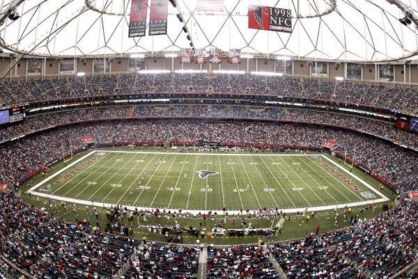 Atlanta Falcons Stadium | Georgia dome, Atlanta falcons ...