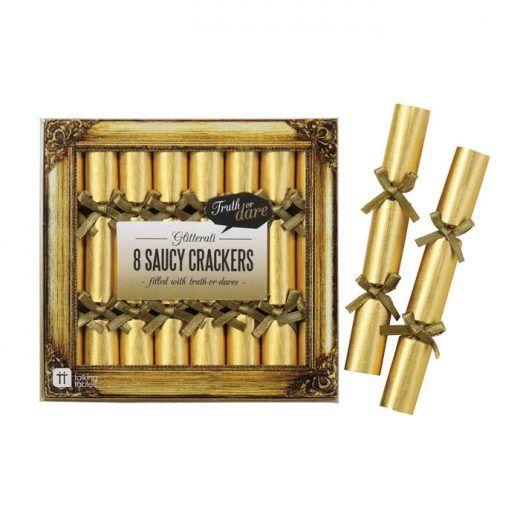 Mini crackers Truth or Dare goud