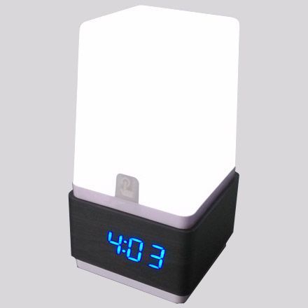 Free Shipping Led Touch Sensor Digital Electronic Alarm Clock Mute