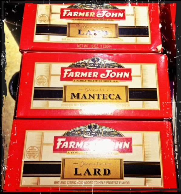 Mmmm, Lard:) haha:)    People Still Use this Stuff?:)  We used Crisco when I was growin' up, especially in KY and TN for that Homemade Fried Chicken!:) Now, I'm Hungry, ugh:) haha:)  Rock On!:) By: #JamminJo 2013