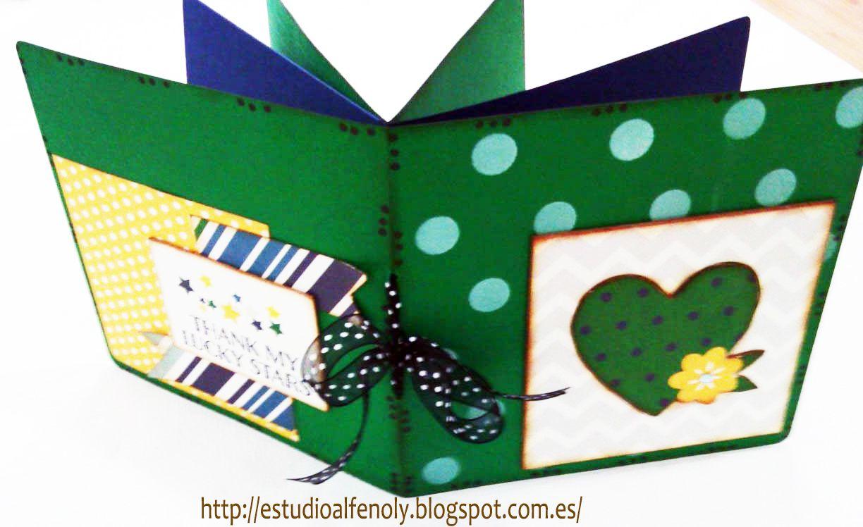 Monográfico Scrapbook !! 8 MONOGRÁFICOS PARA ELEGIR EL DÍA 8 DE NOVIEMBRE http://estudioalfenoly.blogspot.com.es/