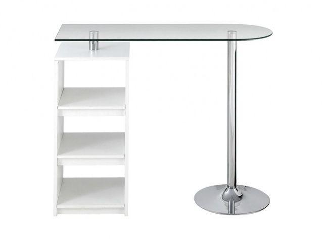 12 Tables De Bar Pour Tous Les Gouts Elle Decoration Table Bar Meuble Rangement Table Mange Debout