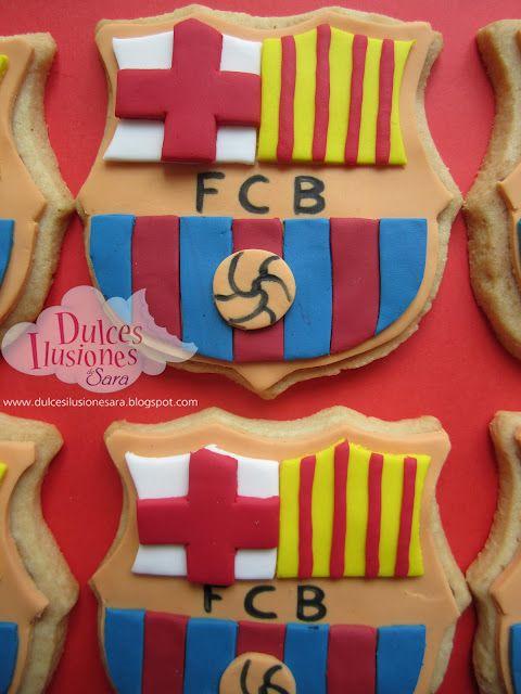 Fcb Barcelona Cookies Barcelona Fc Galletas Decoradas